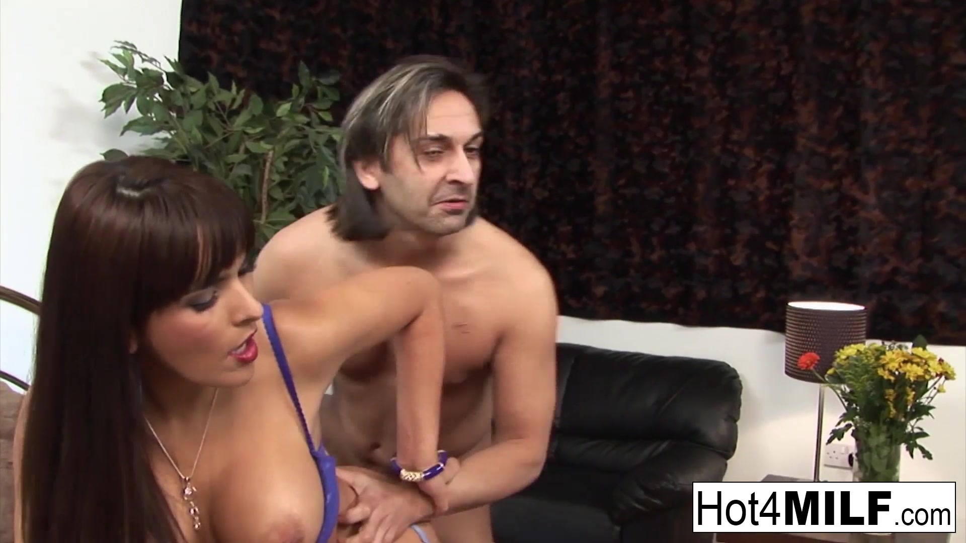 Gorgeous Brunette MILF Gets Fucked By Her Husband
